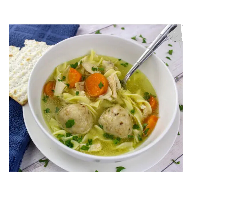 Traditional Chicken Matzoball soup