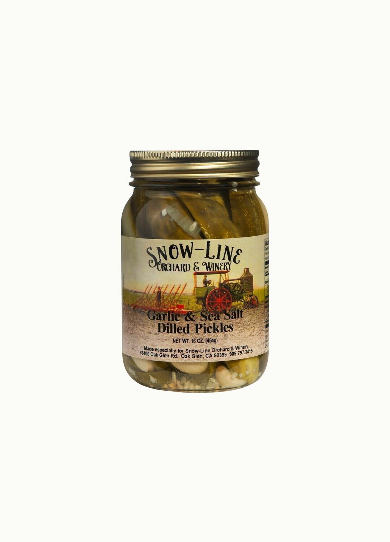 Garlic And Sea Salt Dill Pickle