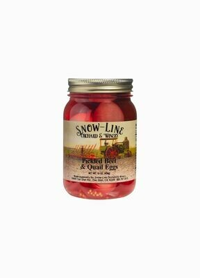 Pickled Beet And Quail Eggs