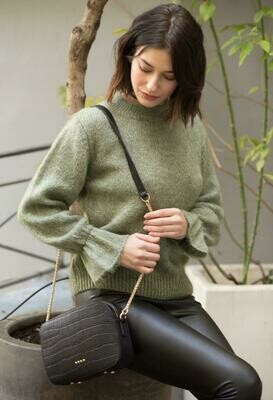 PULL MANCHES VOLANTS