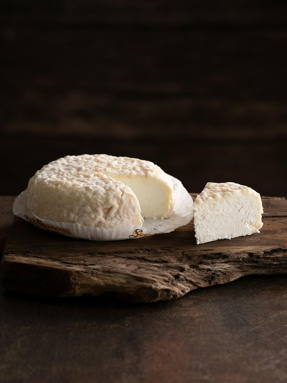 Tuma di capra a latte crudo bianca - circa 300 gr