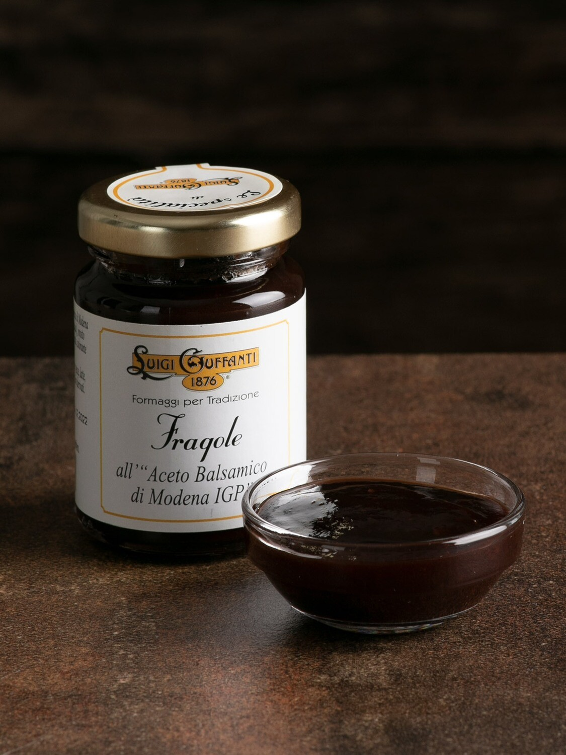 Fragole all'aceto balsamico 110 gr