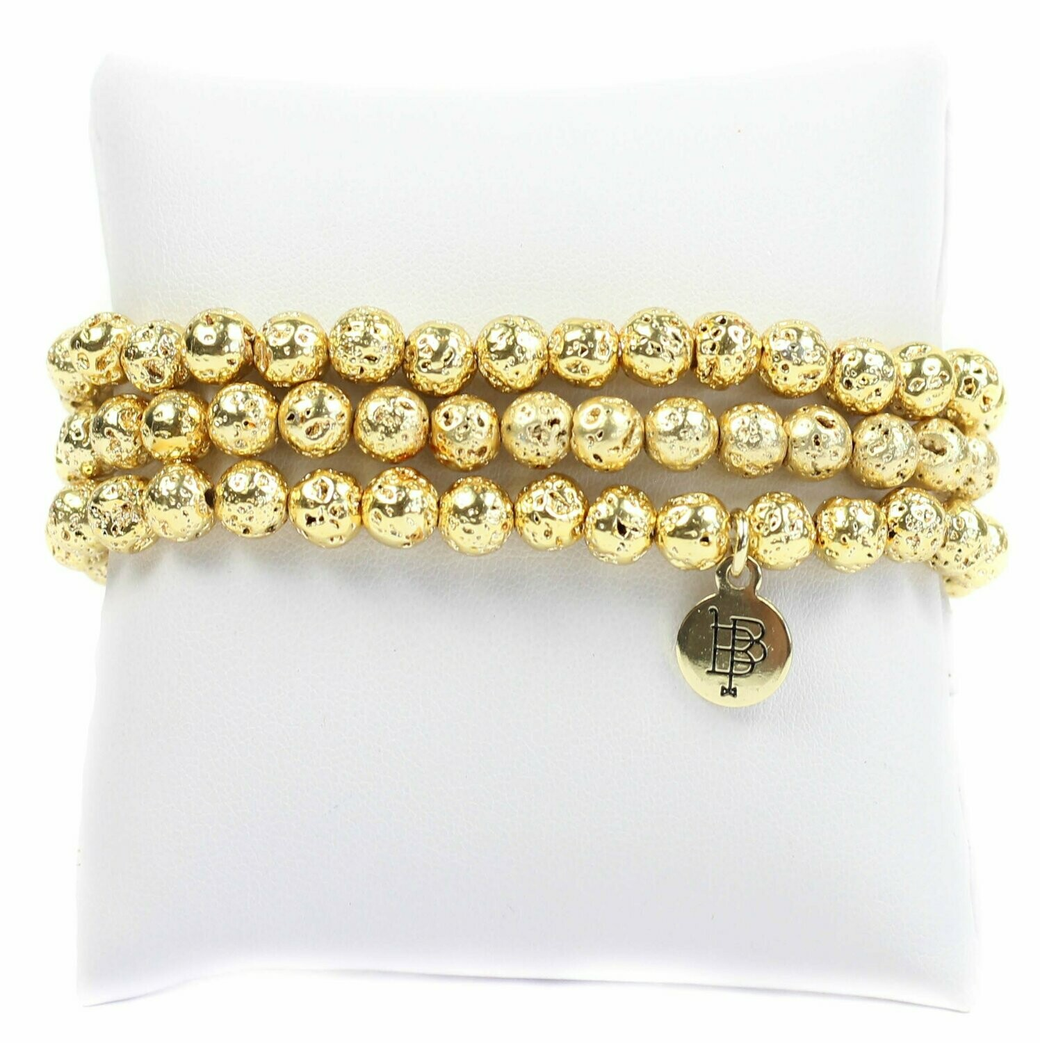 Bourbon & Boweties Gold Stretchy Stack
