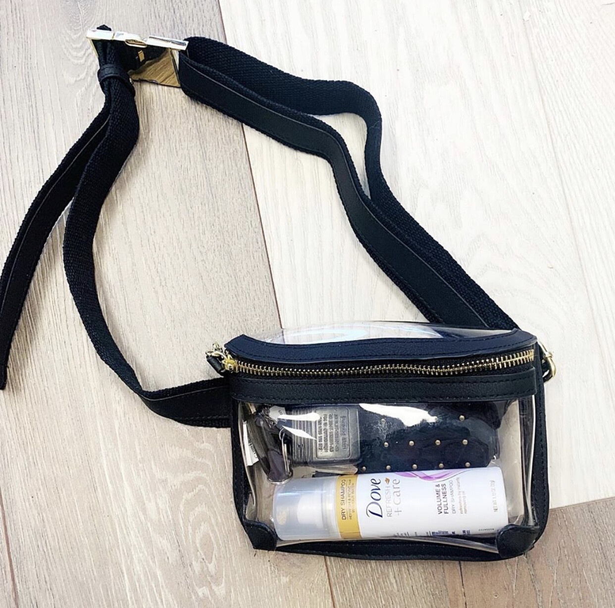 Capri Clear Belt Bag
