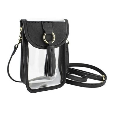 Capri Clear Cell Phone Cross Body