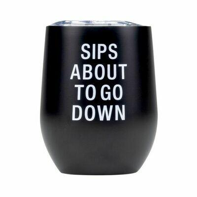 Sips Wine Tumbler