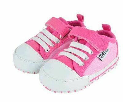 Pink/Pink Canvas Sneaker