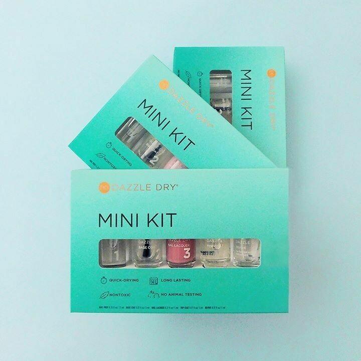 Dazzle Dry Mini Kits