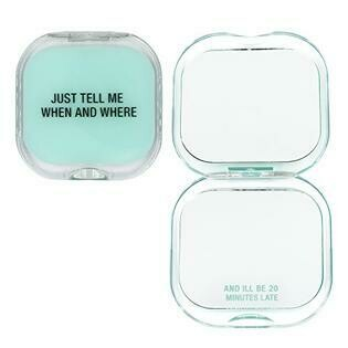 Just Tell Me When & Where Compact