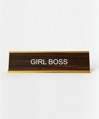 Girl Boss for your Desk