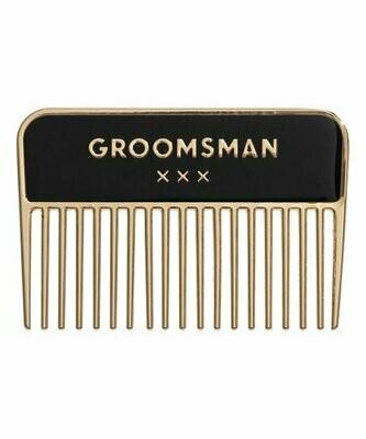 Beard Comb Groomsmen