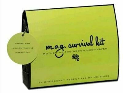 Mother of the Groom Survival Kit