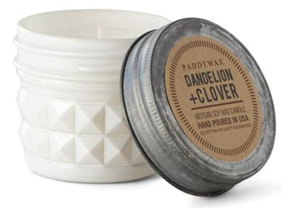 Dandelion + Clover Relish Jar Candle