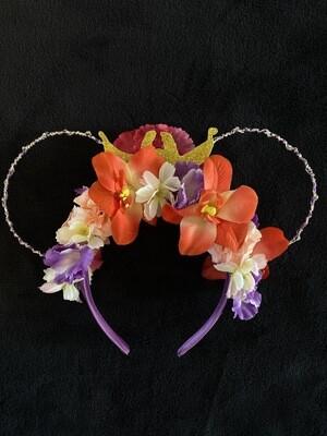 Serre-tête Raiponce fleuri