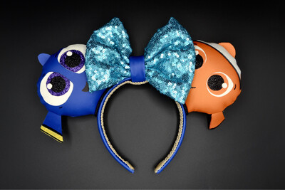 Serre-tête Nemo et Dory