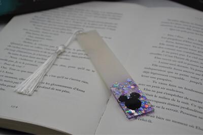 Grand Marque page Mickey - irisé violet