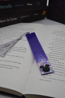 Grand Marque page Mickey - Violet