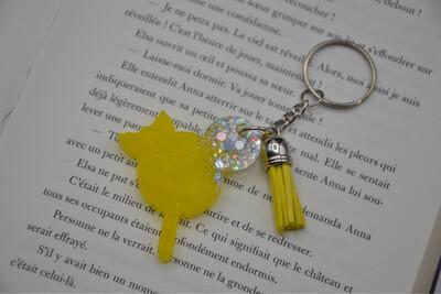 Porte-clefs Glace Mickey- Jaune