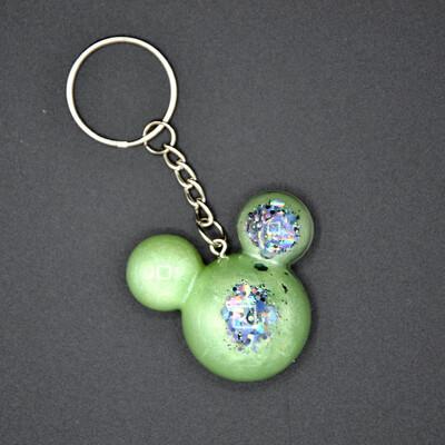 Porte-clefs Mickey - vert clair et noir