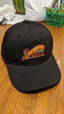 Black Saturday Seed Co. snap back hat