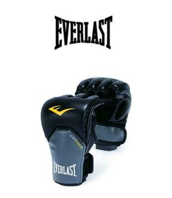 EVERLAST ACCESORIOS GUANTES MMA_POWERLOCK_TRAINING_GLOVES_L/XL BLACK/GREY