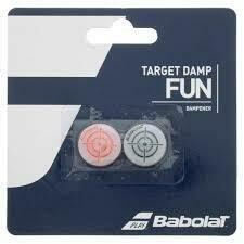 BABOLAT ACCESORIOS TENNIS_ANTIVIBRADOR TARGET_DAMP_X2 BLACK/RED_FLUO