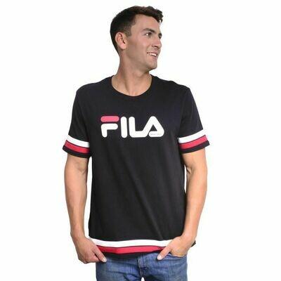 FILA PRENDAS MASCULINO T-SHIRT RIPLEY BLACK