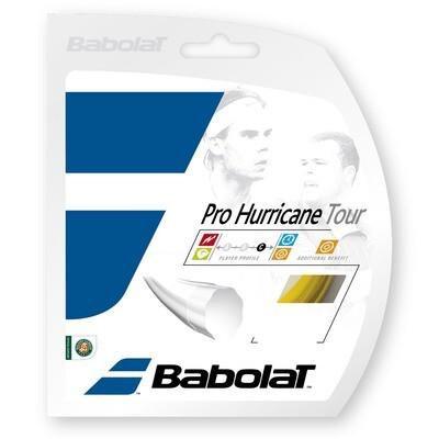 BABOLAT ACCESORIOS TENNIS CUERDAS PRO_HURRICANE_TOUR_12M AMARILLO