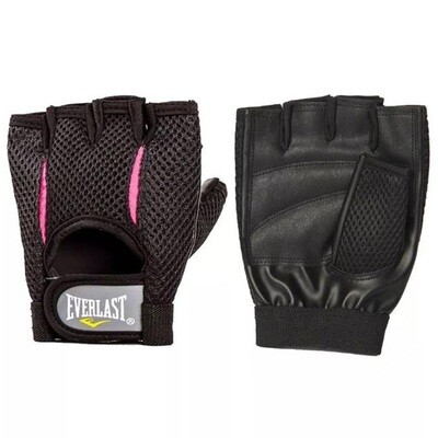 EVERLAST ACCESORIOS GUANTES ROSS_WEIGHTLIFTING_GLOVE_L/XL BLACK/PINK