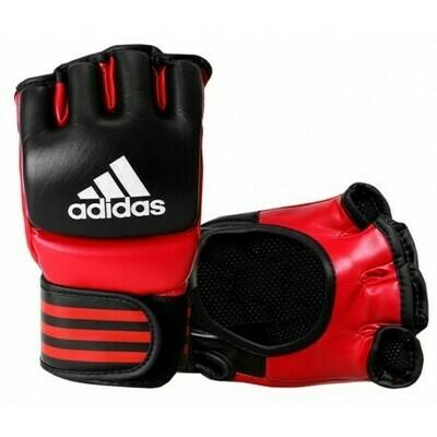 ADICSG041-4 ADIDAS ACCESORIOS LUVA DE MMA ADICSG041 CORES DIV. BLACK/RED-M