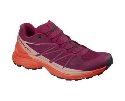 SALOMON CALZADOS WINGS PRO 3 W BEET RED/CORAL