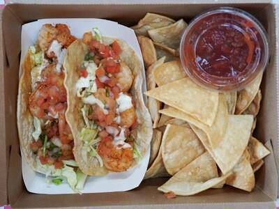 Adobo Shrimp Tacos