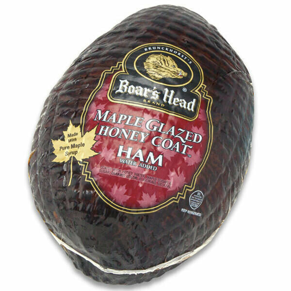 Boar's Head Maple Glazed Honey Ham