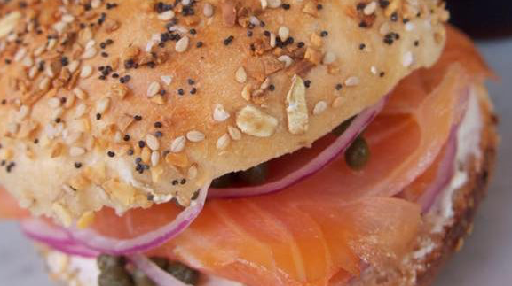 Lox & Cream Cheese Sandwich