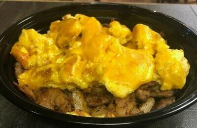 Eggs, Cheese & Potato Bowl