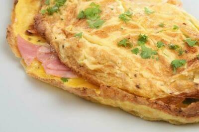 Omelette (Cheese & Meat) Platter