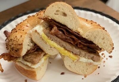 Trifecta Breakfast Sandwich