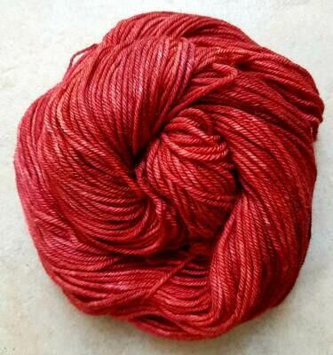 Riverstone Yarns - Ecowash Merino Worsted - Poppy