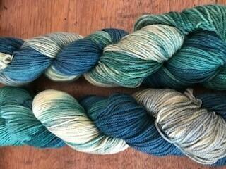 Riverstone Yarns - 80/20 Sock - Mystic Green