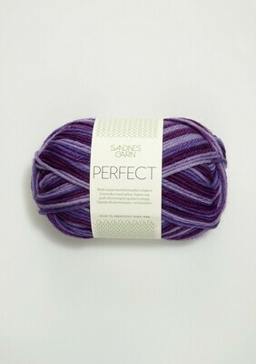 Sandnes Garn Perfect - Multi 5500 Purple