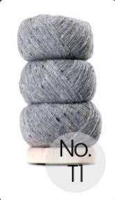 Geilsk Tweed - T1- Light Grey