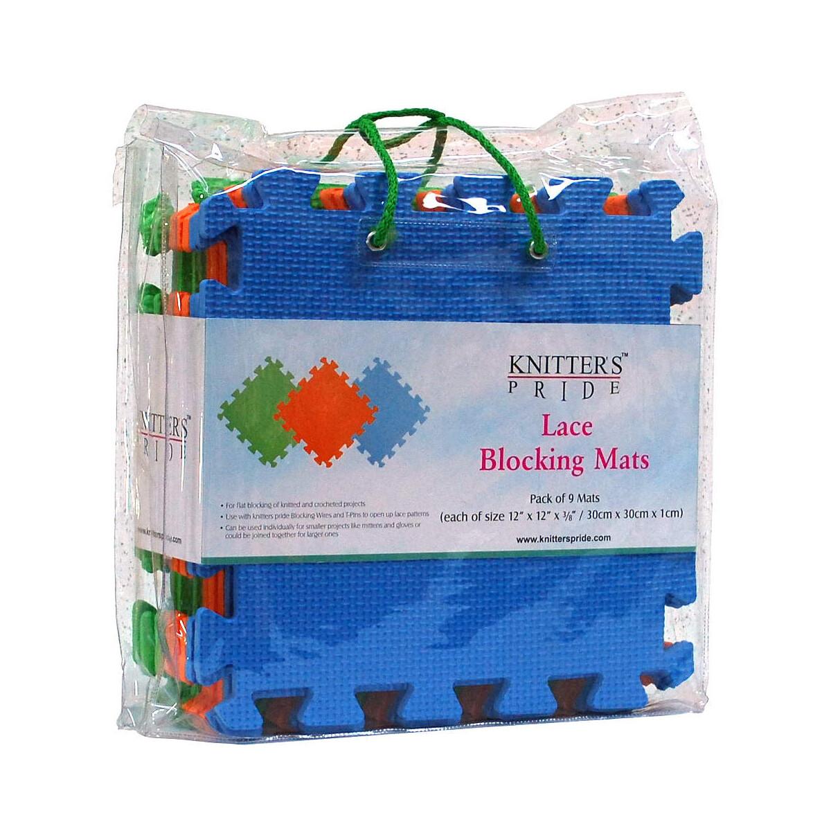 Knitter's Pride - Lace Blocking Mats - Pkg Of 9