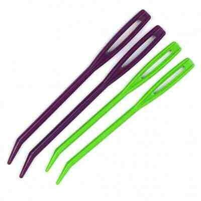 Knitter's Pride Tapestry Needles (2) - Bent Tip, Large Eye
