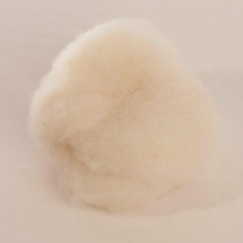 Custom Woolen Mills - 1-lb. Roping - Natural White - Col. 01