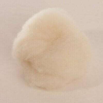 Custom Woolen Mills - 1-lb. Felting Batt 01 Natural White