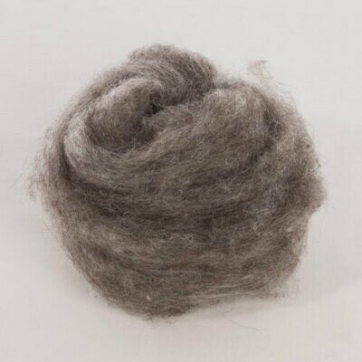 Custom Woolen Mills - 1-lb. Roping - Natural Dark Grey - 04