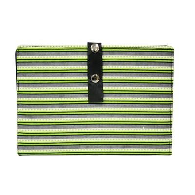 Pattern Holder - Large, Green Stripes