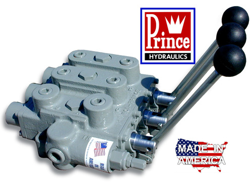Prince RD533CCCAAA5A4B1 Three Spool Valve, all ports 3/4