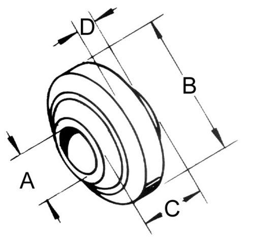 Standard Spherical Ball Joint