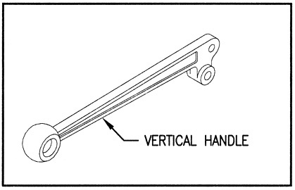 660190001 - Vertical Handle & link kit